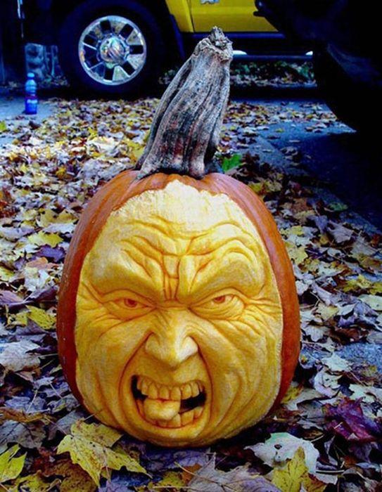 Creative Pumpkin Carvings 19 Pics Curious Funny