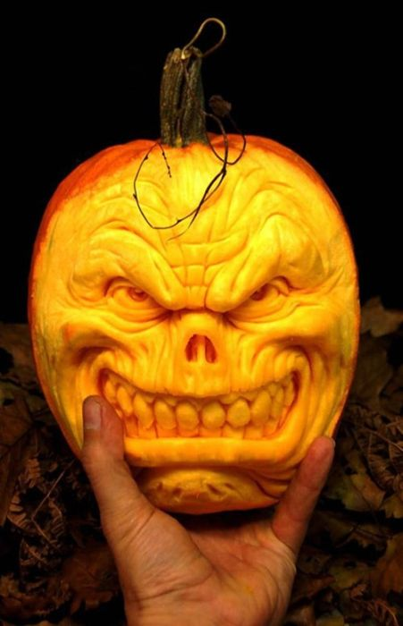 Creative Pumpkin Carvings 19 Pics Curious Funny