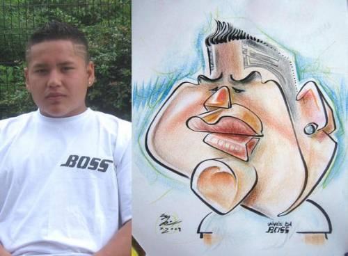 Как нарисовать смешное лицо по