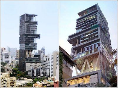 Antilla - the world's largest And expensive private home  Antilia-largest-private-home-05