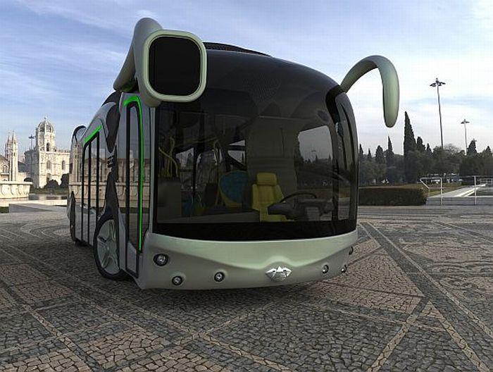 Conceptual bus Credo E-Bone