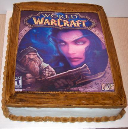 Cakes in the style of World of Warcraft