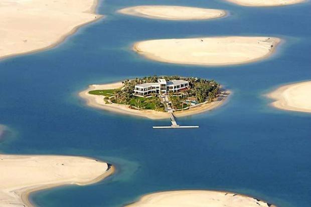 Private island of Michael Schumacher