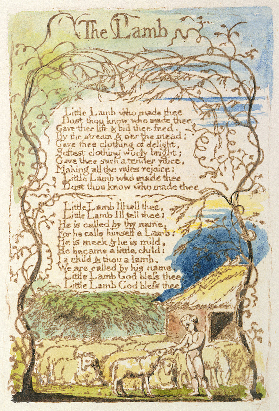 the lamb by william blake analysis Analysis of the tyger by william blake the contrasted subjects presented in the two poems are god's love in ' the lamb' and god's wrath in ' the tyger.
