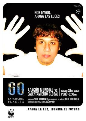 Daniel Angello Apoya La Hora Del Planeta 2009 Perú