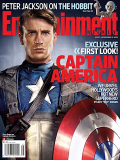 chris evans cap cover high res 550x733 - Nueva imagen del Capitan America!