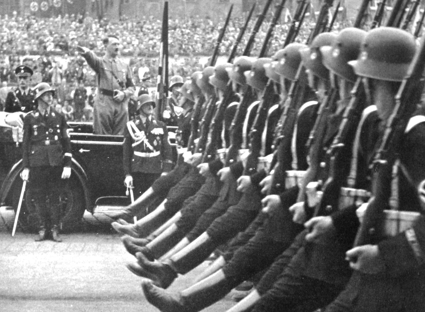 the early Waffen-SS  then  Waffen Ss March