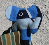 Recycled Jumper Elephant