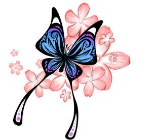 FANtà STICO MUNDO DA PRI ⠥ Tatuagem Borboletas Butterfly Tattoo