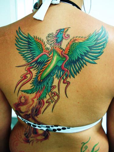 Fenix tattoo tatuagem fenix