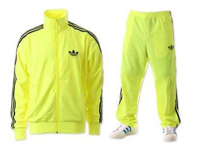 Veste adidas jaune et noir