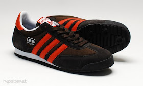 adidas dragon marron noir