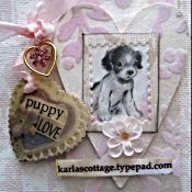 Puppy Love Tag Book Swap