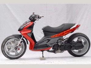 Suzuki Skydrive Modification