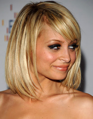 nicole richie haircut. nicole richie new haircut