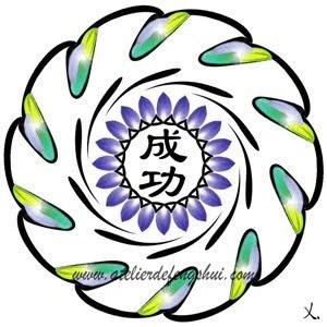 símbolo chino del éxito