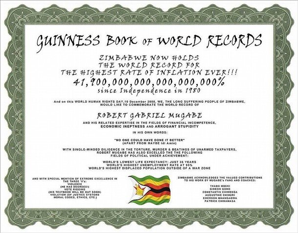 """THE GUINNESS BOOK OF RECORDS CERTIFICATE"". >> TO GET TO SKYNEWS VIDEOS, CLICK ON CERTIFICATE!"