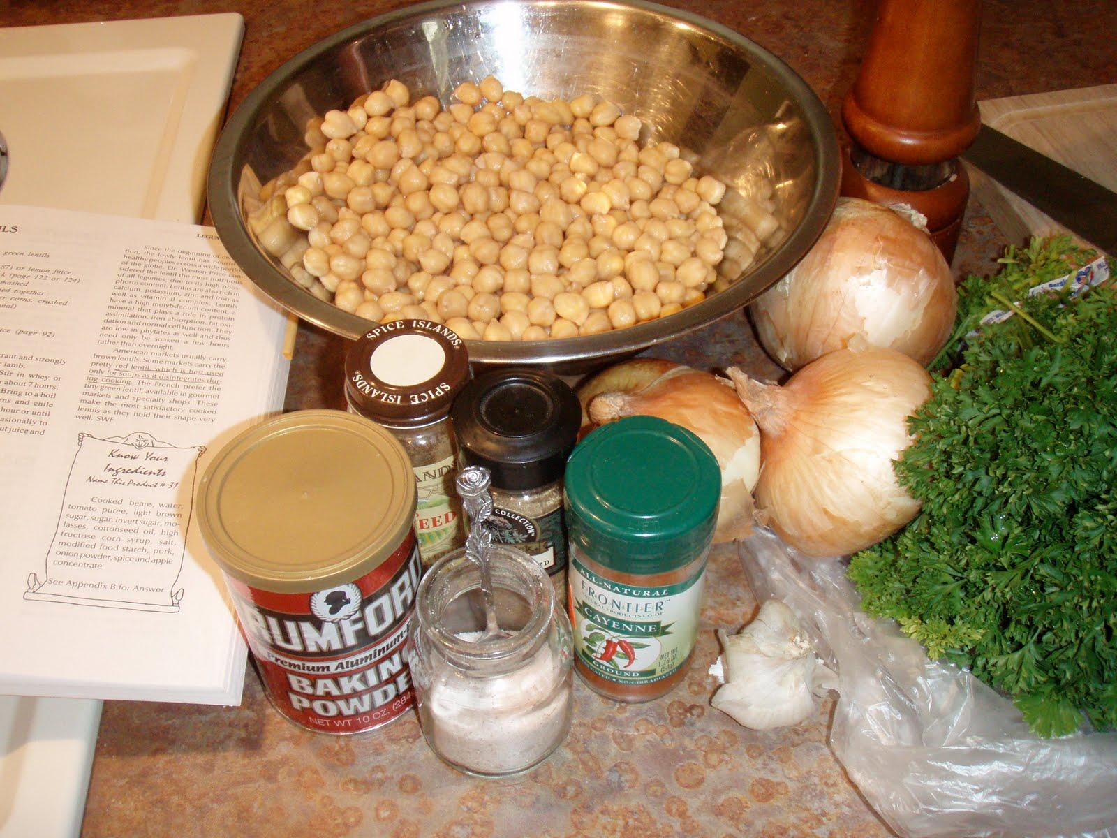 how to make falafel video