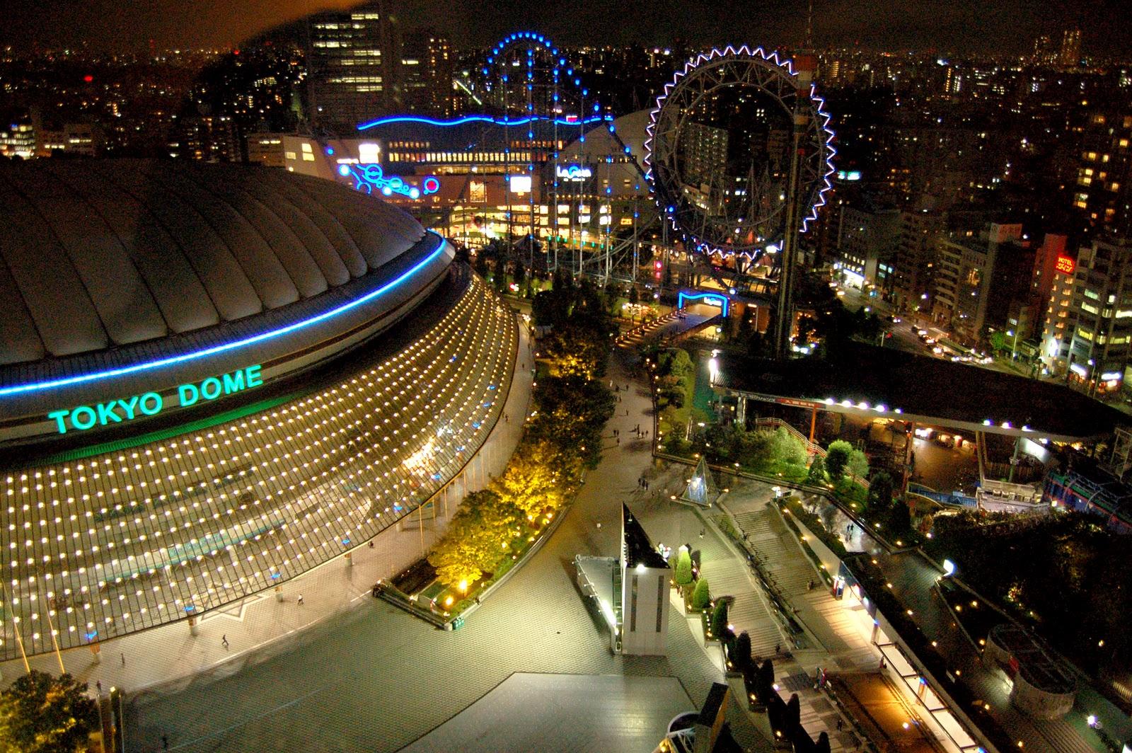 Tokyo Dome From Narita Tokyo Narita International