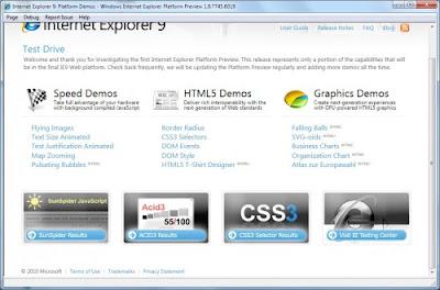 Internet Explore 9