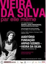 [] Teatro . Téâtre . Theatre . 'Vieira da Silva par elle même'