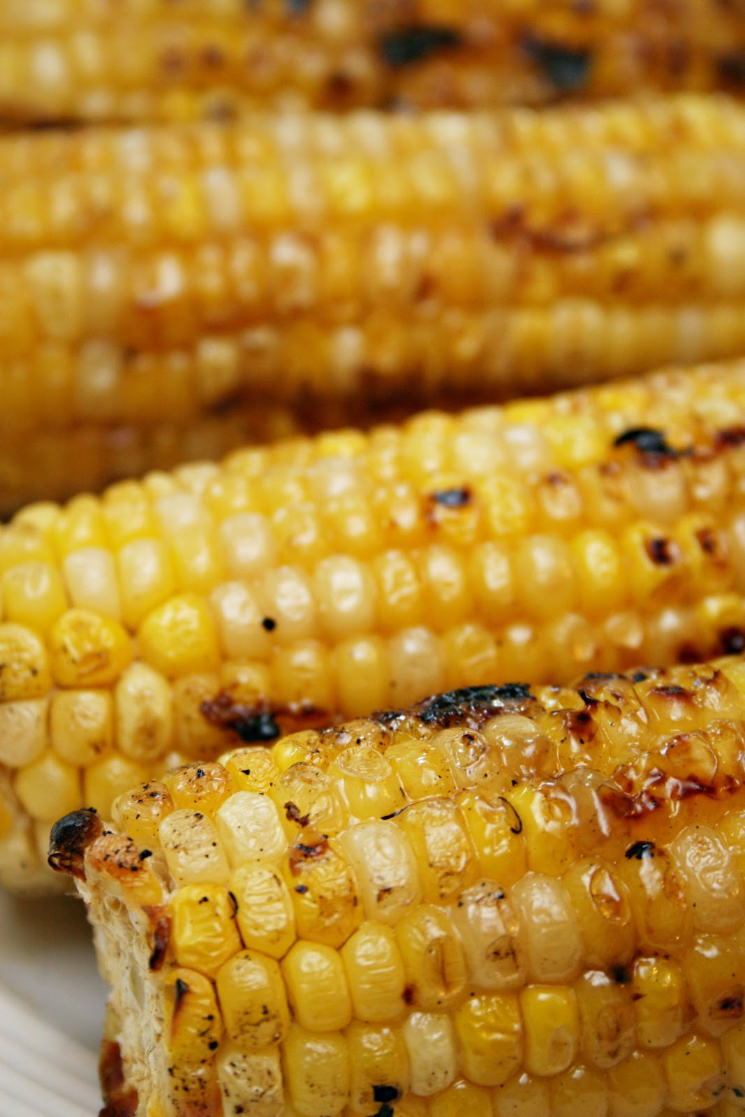 times as it grills 4 baste the corn one final time transfer it to a ...