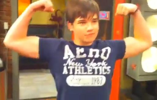 Nathan Kress Shirt Off