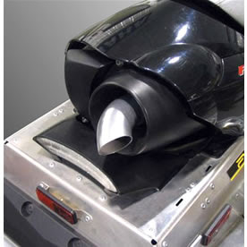 Yamaha Phazer Exhaust Turnout