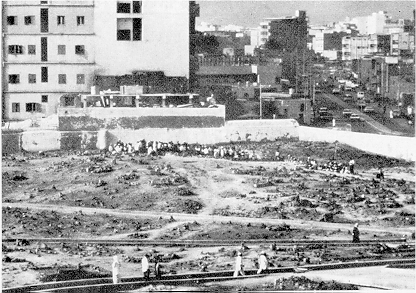 Jannat-ul-Baqi (after demolished)