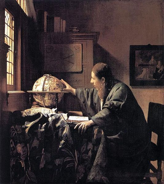 "VERMEER  ""L'Astronome"""
