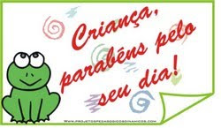 Cartões para dia das crianças