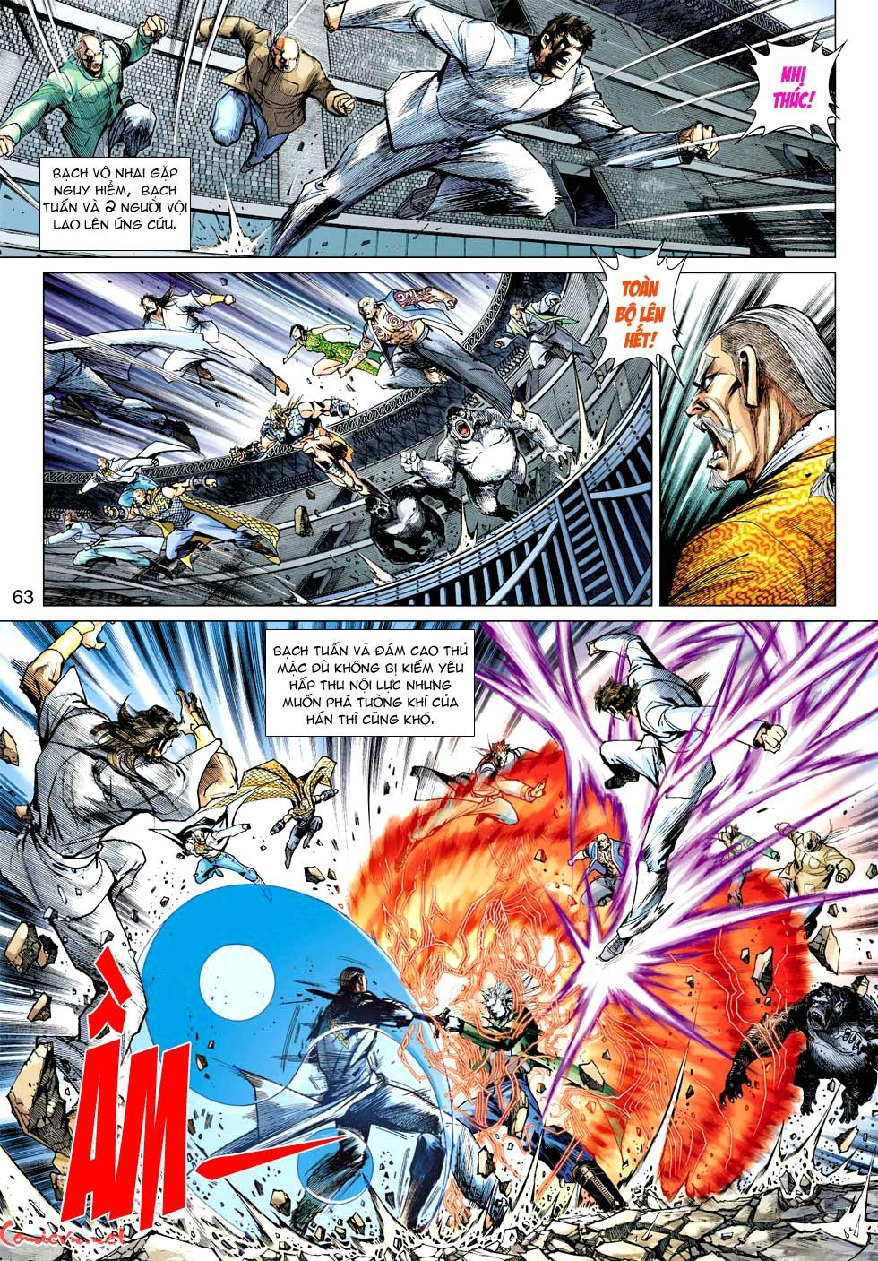 Vương Phong Lôi 1 chap 35 - Trang 20