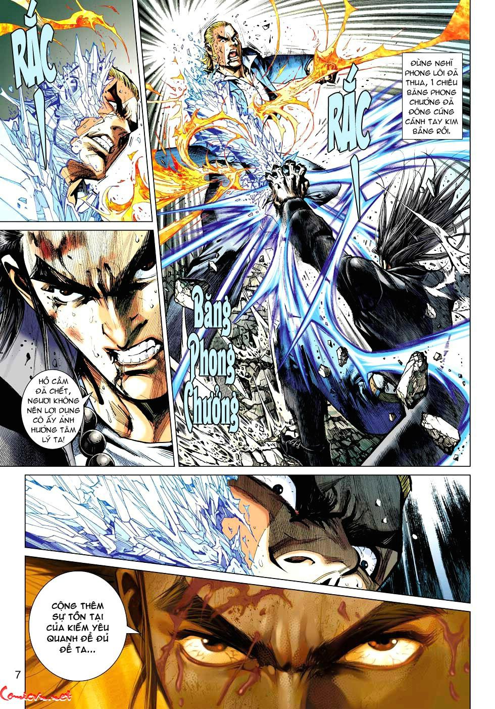 Vương Phong Lôi 1 chap 34 - Trang 7
