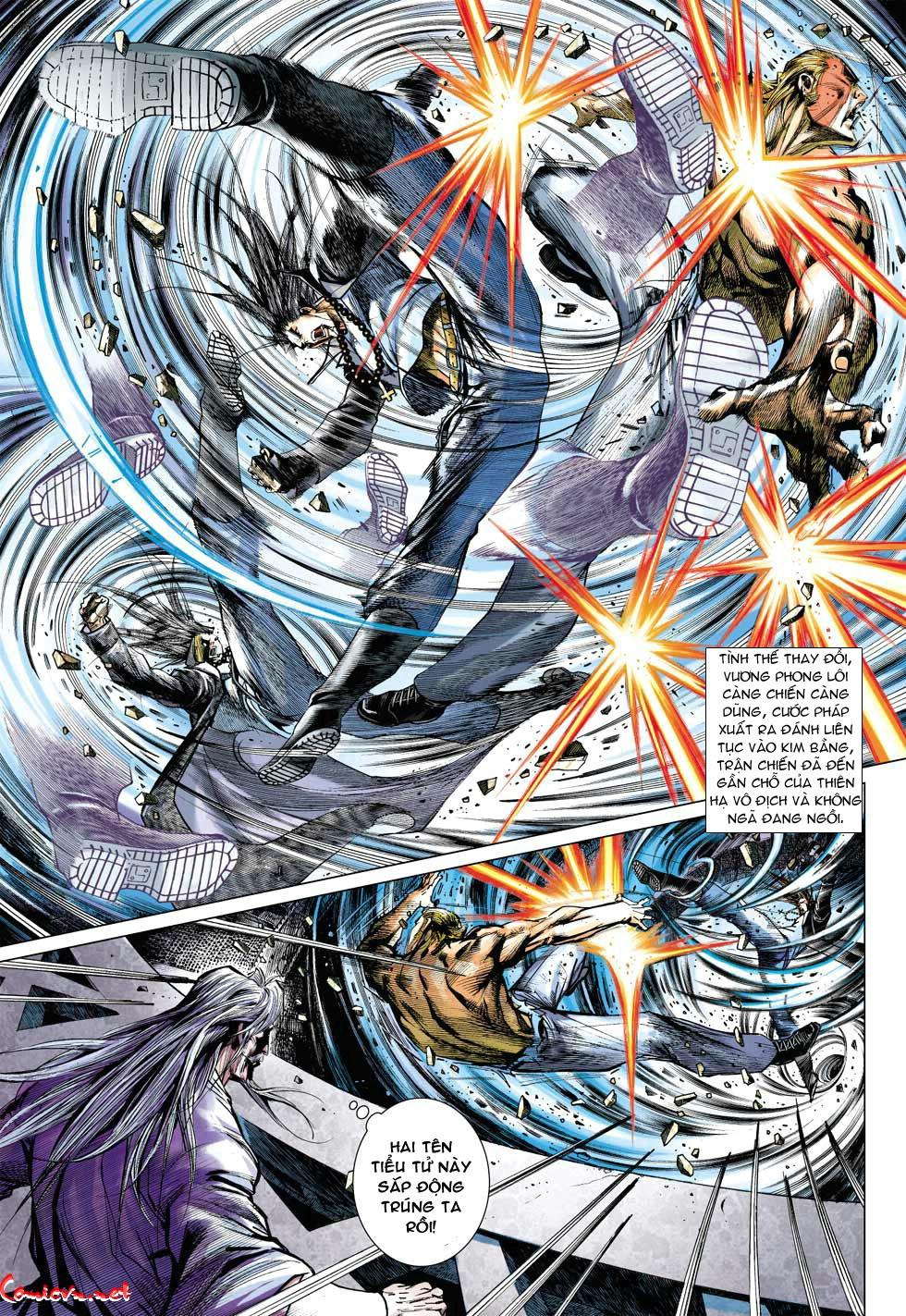 Vương Phong Lôi 1 chap 34 - Trang 11