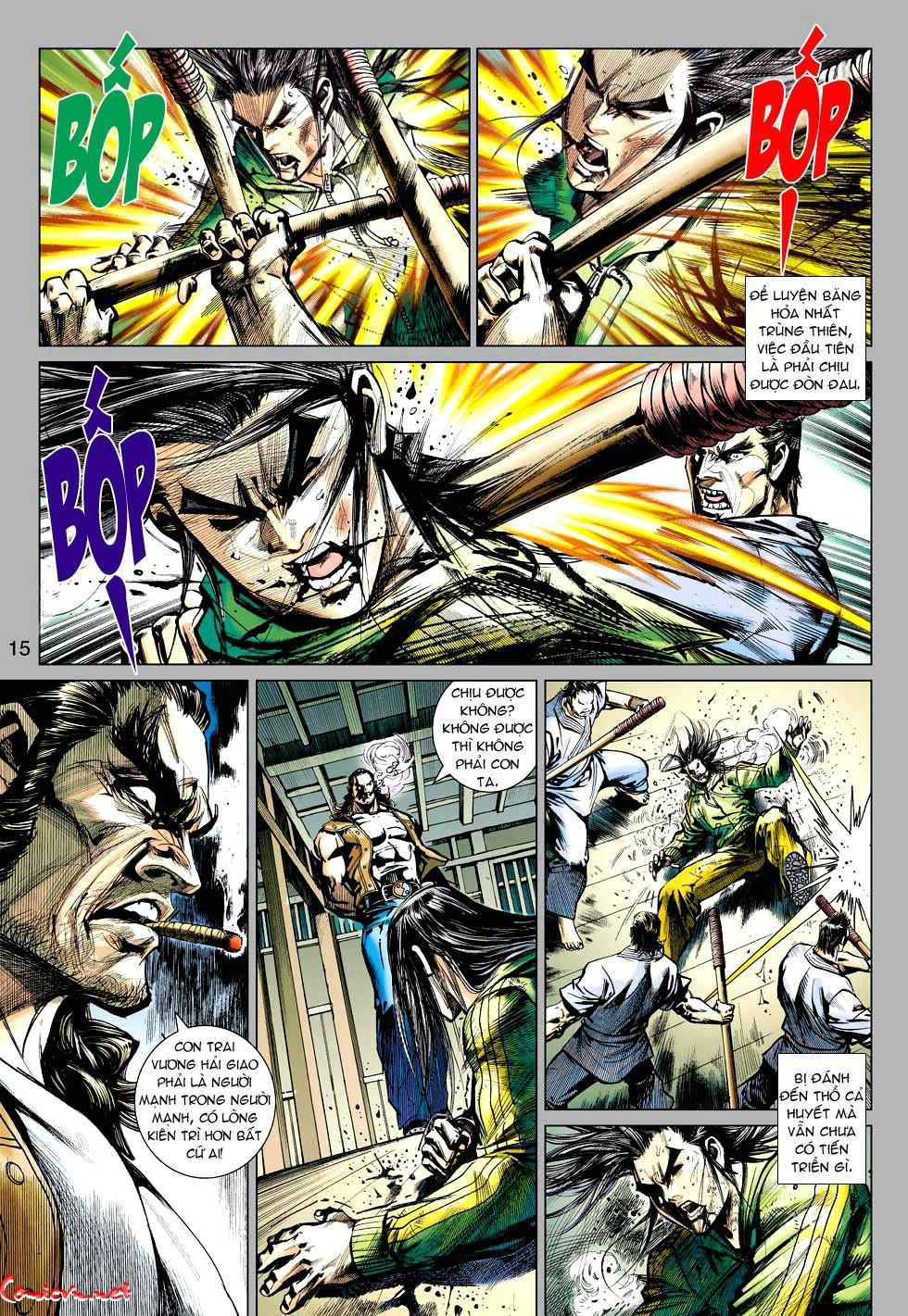 Vương Phong Lôi 1 chap 34 - Trang 15