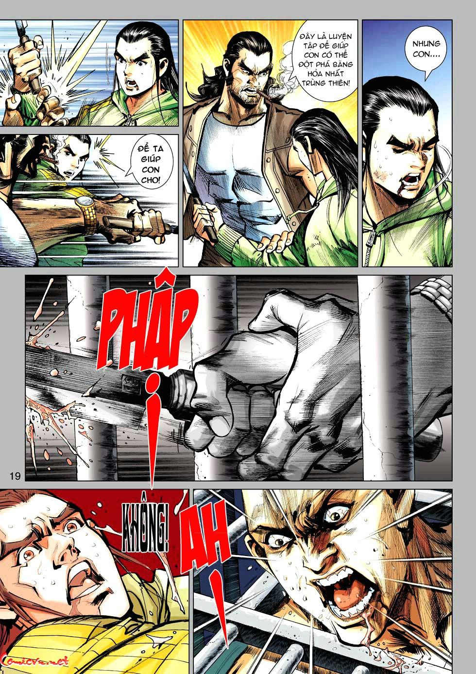 Vương Phong Lôi 1 chap 34 - Trang 19