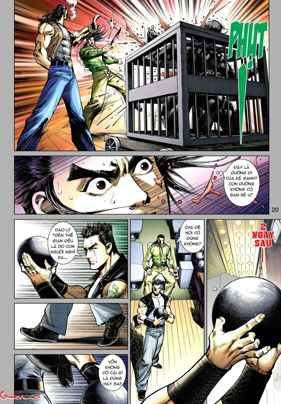 Vương Phong Lôi 1 chap 34 - Trang 20