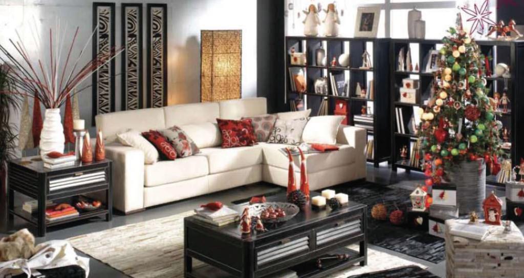 Imagenes de decoracion de navidad para casas for Adornos casa