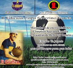 6 de enero 16.30 hs II EDICION DE LA COPA SEVERINO VARELA