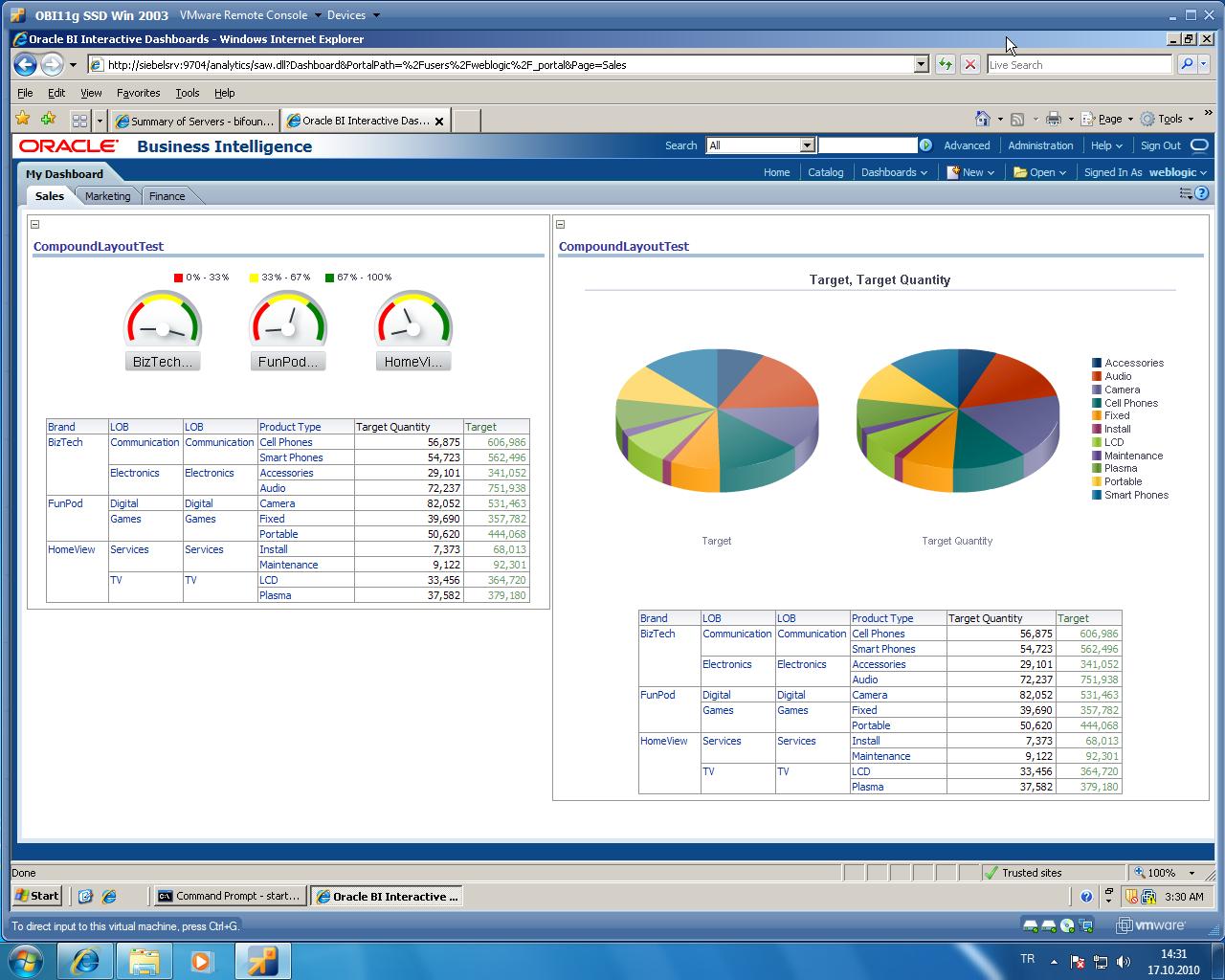 Cuneyt Yilmaz Oracle Blog Oracle Business Intelligence