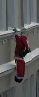 Santa do a special delivery