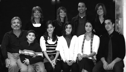 Our family--Christmas, 2008