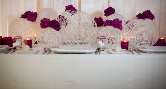 Декор свадебного стола своими руками