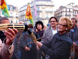 Hélène Mandroux, maire de Montpellier