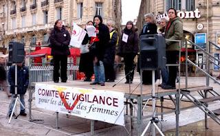 Journée de la femme, Montpellier