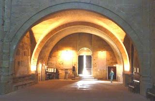 Maguelone, la cathédrale près de Montpellier