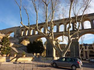 Montpellier et ses arceaux