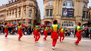 Fête à Montpellier