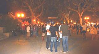 La nuit à Montpellier
