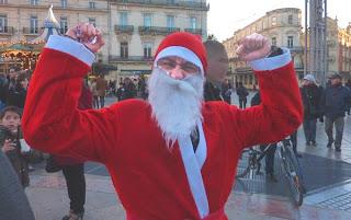 Père Noël à Montpellier